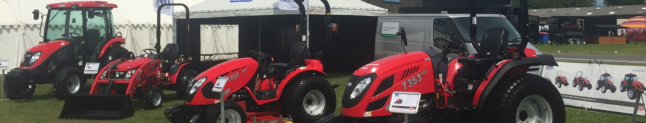 New TYM Compact and Farm Tractors